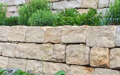 Naturstein Hochbeet selber bauen! Anleitung und Tipps