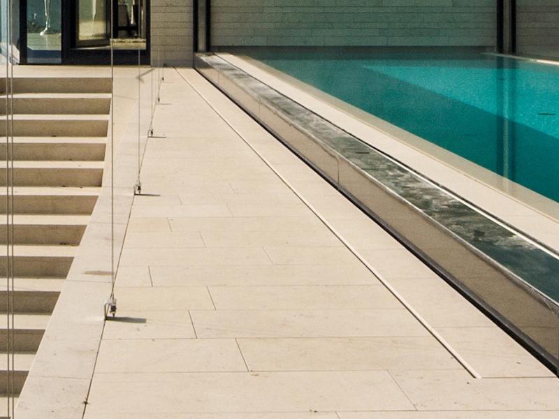 Natursteinbodenplatten