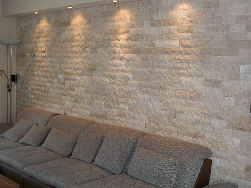Wandverblender aus Naturstein