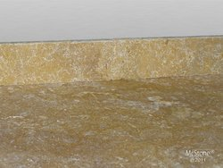 Travertin Yellow getrommelt Sockel 40,6 x8,0x1,2 cm