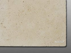 Travertin Beige Select getrommelt Fliese 61x61x1,2 cm