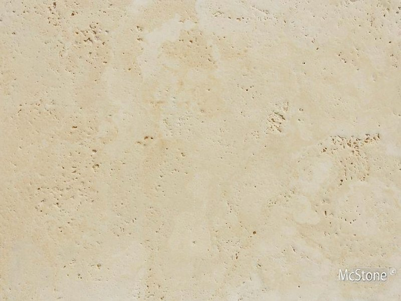 Travertin Beige Select gebürstet Fliese 40,6x61x1,2 cm