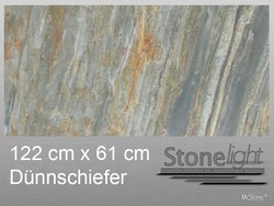 Stone light Dünnschiefer Burning Forest spaltrau 122 cm x...