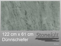 Stone light Dünnschiefer Silver Grey spaltrau 122 cm x 61...