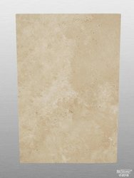 Travertin Beige Light Select getrommelt Platte 91,5x61x3 cm