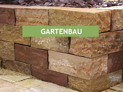 Natursteine für den Gartenbau