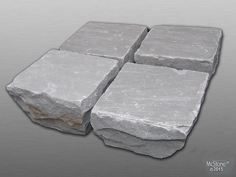Pflastersteine aus Autumn Grey Sandstein