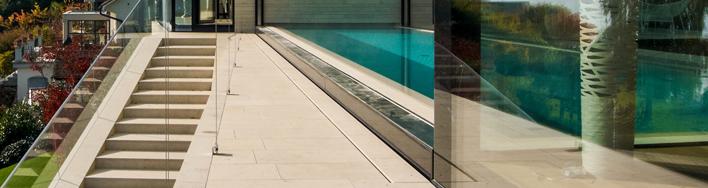 Dietfurter Kalkstein Gala Terrassenplatten