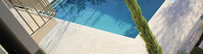 Kalkstein-Platten Coeur de Roche gebürstet