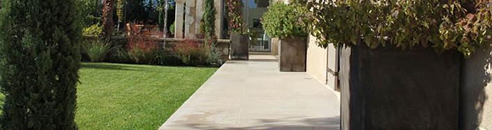 Kalkstein Terrassenplatten Coeur de Roche