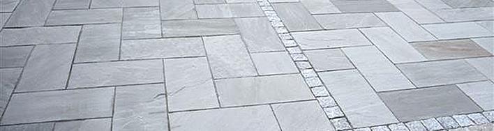 Sandstein Terrassenplatten Autumn Grey
