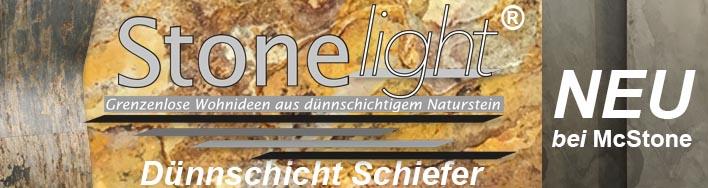 Stone light Dünnschicht Schiefer Naturstein